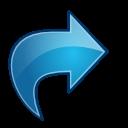 Actions-blue-arrow-redo-icon